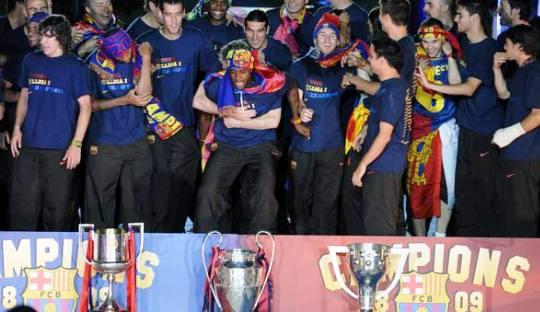Paralelisme di Antara Barcelona Era Enrique dan Guardiola