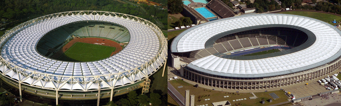 Mana yang Olymipastadion sama yang Estadio Olimpico hayoooo?