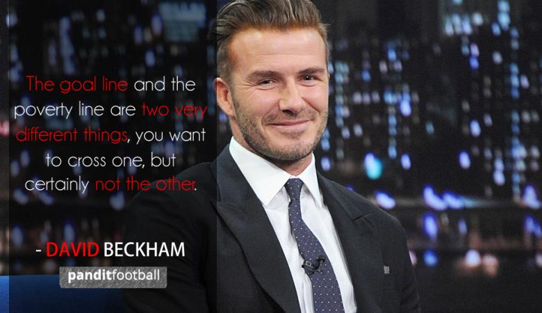 Beckham dan Ilusi Kemewahan Profesi Pesepakbola
