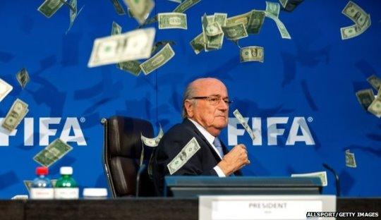 Komedian, Presiden FIFA, dan Sepakbola Indonesia