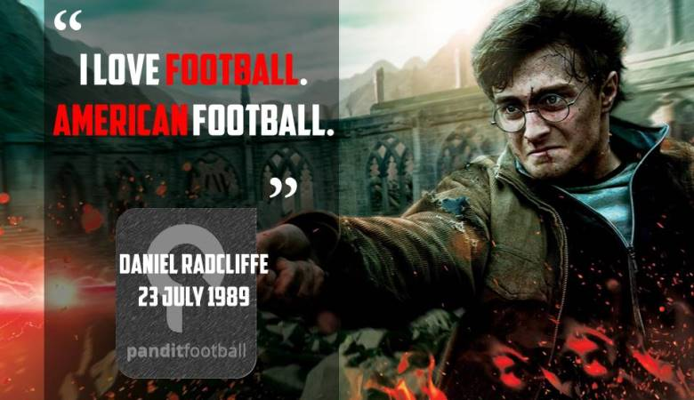 Kritik Pedas Daniel Radcliffe untuk Sepakbola