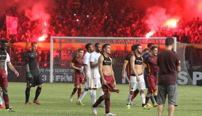 Laporan dari Jakarta: AS Roma Pun Bete....
