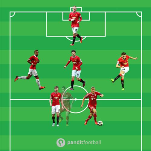 Membayangkan Solidnya Lini Tengah Man United Bersama Schweinsteiger