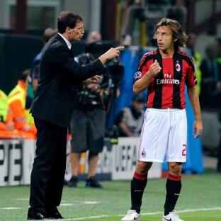 Pirlo tak sesuai dengan skema Allegri saat keduanya di AC Milan