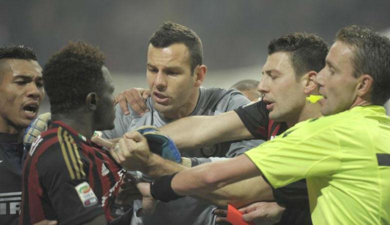 Muntari dan Bonera Seperti Kumis yang Lucu di Wajah AC Milan