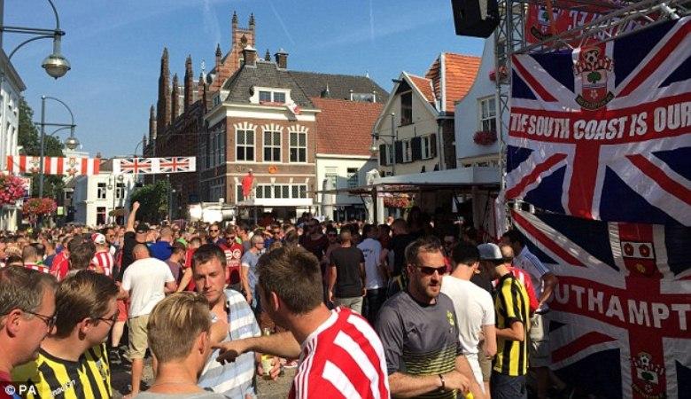 Ricuh Vitesse vs Southampton, Awal Kekerasan Suporter di Europa League