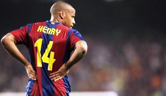 Mengkhidmati Thierry Henry sebagai Salah Satu Trisula Barcelona