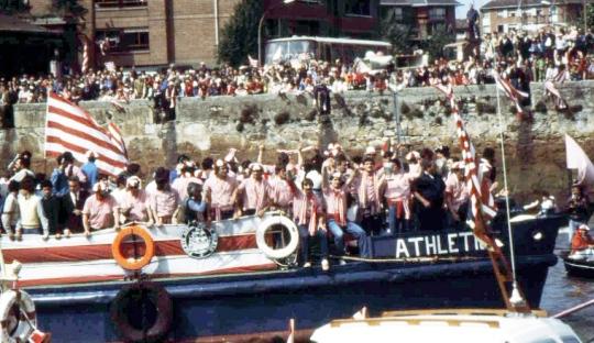 La Gabarra sebagai Cara Pendukung Athletic Bilbao Berpesta