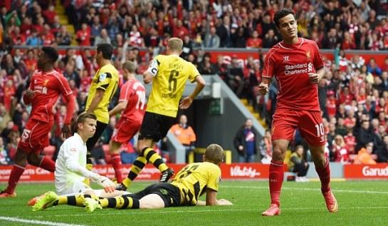 Kesamaan Nasib Dortmund dan Liverpool