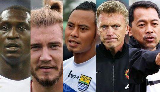 Para #Lord Sepakbola: Dari Bendtner, Heskey, Atep hingga Aji Santoso