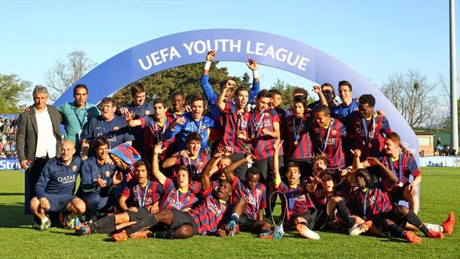 Barcelona U19 juara perdana UEFA youth league