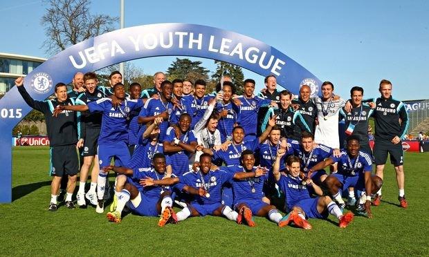 Chelsea U19 juara UEFA youth league musim lalu (sumber: uefa)