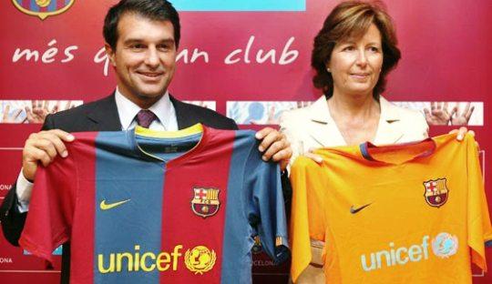 "Bersama Unicef, Barcelona Mengakhiri ""Kepolosan"" Kostum Mereka"