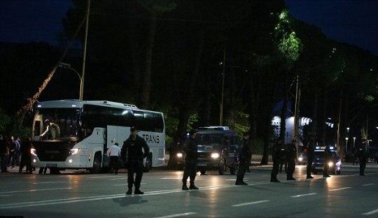 Tensi Panas Jelang Pertandingan Albania Melawan Serbia