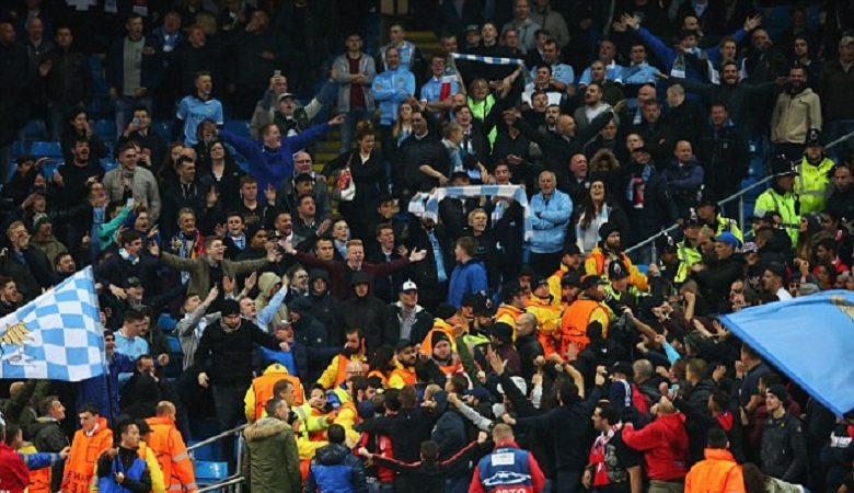 Serangan Hooligan Manchester City yang Disusupi Garis Keras Polandia