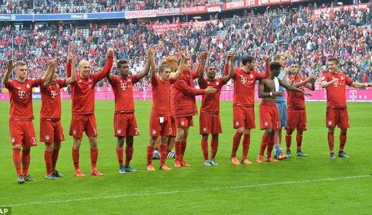 Kisah Bayern München dan Tiga Klub 10 Kemenangan Beruntun