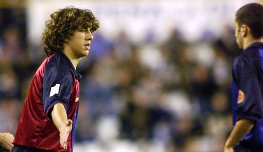 Kisah Debut Si Jabrik nan Garang, Carles Puyol