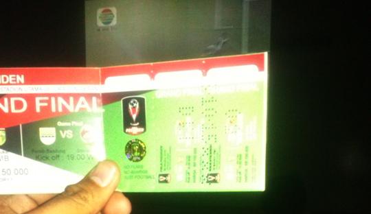 Tiket-tiket yang Percuma dalam Euforia Persib Juara