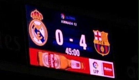 Kekalahan-kekalahan Besar Real Madrid di El Clásico