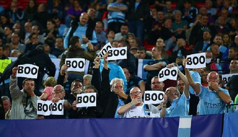 Salah Kaprah Ultras Sevilla untuk Membungkam Suporter Manchester City