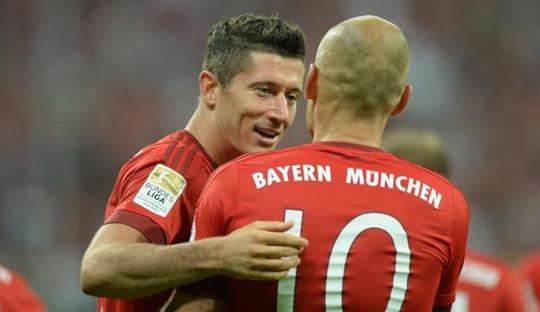 Robben-Lewandowski dan Media Inggris yang Ikut Ribut