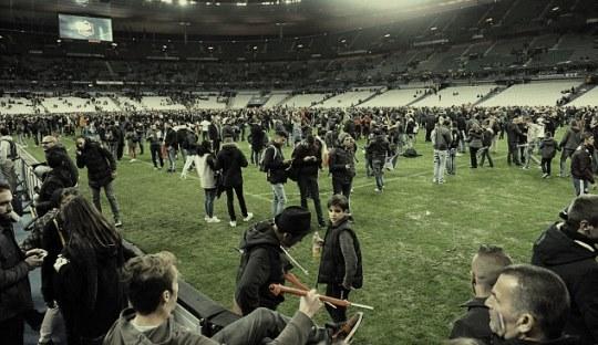 Aksi Teror di Tengah Pertandingan Prancis vs Jerman