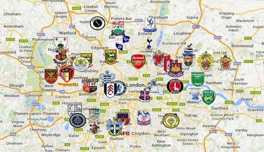 London dan Sejarah Sepakbola di Dalamnya