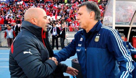 Argentina Melempem, Gerardo Martino dalam Ancaman
