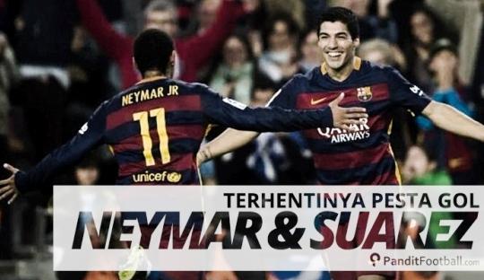 Sang Kapten yang Mengakhiri Kran Gol Neymar - Suarez
