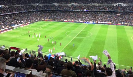 Pañolada, Seni Protes à la Suporter La Liga di Stadion