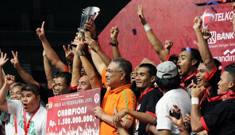 PS TNI: PSMS Medan di Piala Jenderal Sudirman