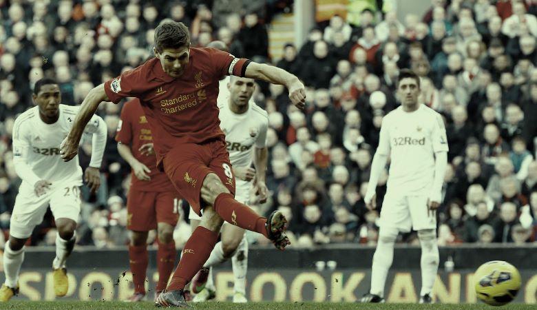 Penalti-Penalti Liverpool di Premier League