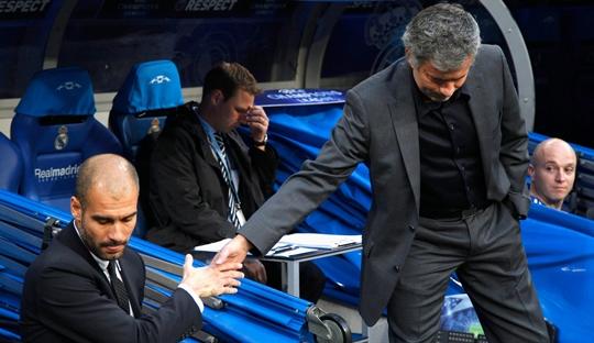 Natal, Pep, dan Mourinho