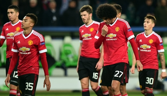 Kegagalan-kegagalan United di Fase Grup Champions League