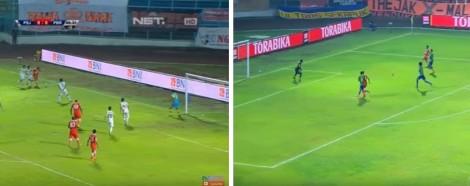 Proses Gol-gol Persija Yang Berasal Dari Umpan Silang