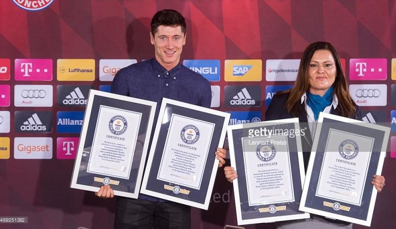 Guiness World Record Pertama Bagi Lewandowski