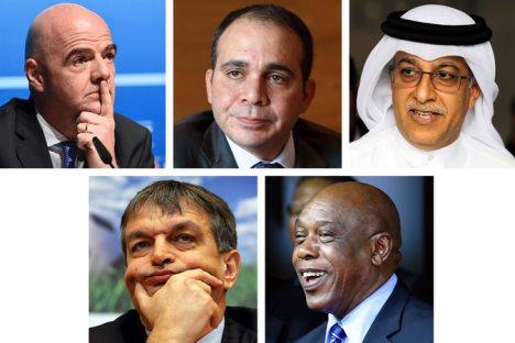 Lima Calon Penerus (?) Sepp Blatter