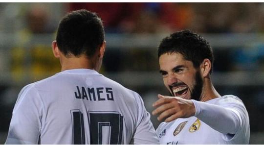 Persaingan Isco dan James untuk Menjadi Pilihan Utama Zidane