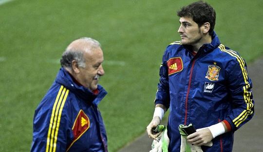 Meski Masih Hebat, Del Bosque Tak Menjamin Tempat untuk Casillas