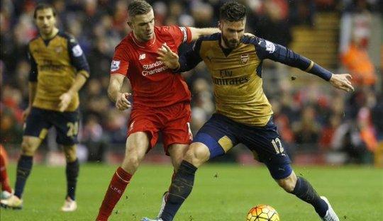 Tiga Hal yang Membuat Laga Liverpool-Arsenal Berakhir Imbang