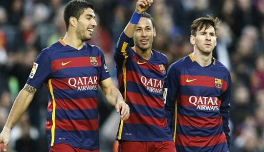 Laju Trio MSN Lanjutkan Rekor Tak Terkalahkan Barcelona