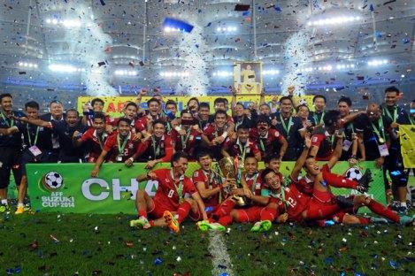 Tiga Negara Siap Gantikan Filipina Sebagai Tuan Rumah Piala AFF 2016