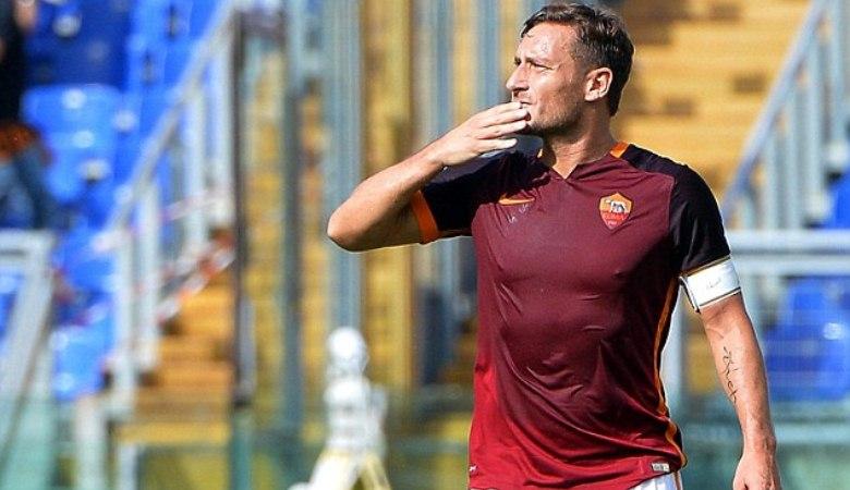 Totti Dicoret, Spalletti: Demi Kebaikan Tim