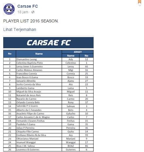 Carsae FC