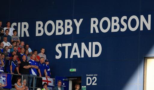 Sir Bobby Robson Stand di Portman Road. foto: thefootballnetwork.com