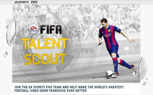 Halaman EA Sports Talent Scout