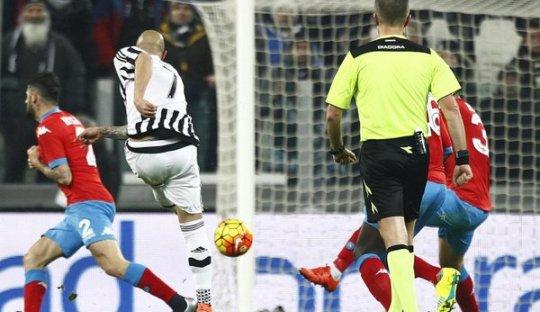 4 Hal dari Kemenangan Juventus Atas Napoli