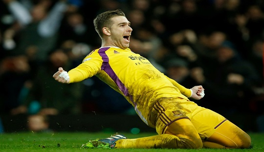 Adrián, Kiper West Ham yang Rendah Hati dari Andalusia