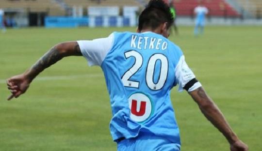 Kontrak Ketkeophompone yang tidak diperpanjang di Tours malah menarik minat klub promosi Ligue1, Angers merekrutnya