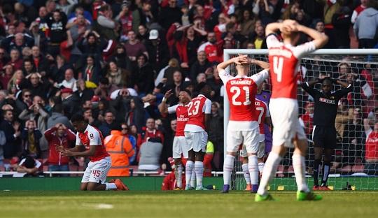Kalah Efektif, Arsenal Disingkirkan Watford di Emirates Stadium